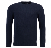 Barbour Manor Crew Pullover - Navy- MKN1103NY91